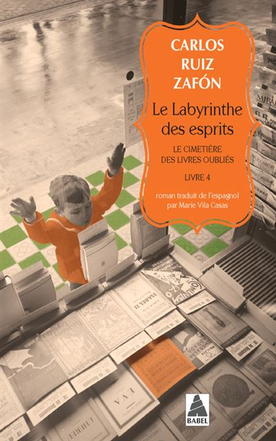 Le Labyrinthe Livre Tome 4 : labyrinthe, livre, Labyrinthe, Esprits, Cimetière, Livres, Oubliés, Poche, Carlos, Zafon,, Marie, Casas, Achat, Livre