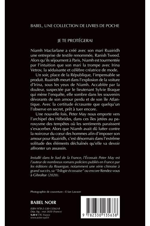 Peter May Je Te Protegerai : peter, protegerai, Protégerai, (babel, Noir), Poche, Peter, Ariane, Bataille, Achat, Livre