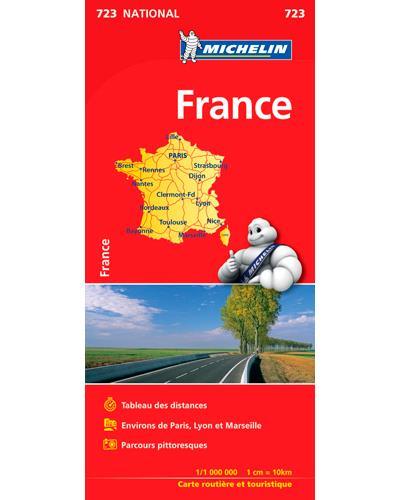 Carte Routière De France Michelin : carte, routière, france, michelin, Carte, France, Michelin, Échelle, Format, Livret, Broché, Collectif, Achat, Livre