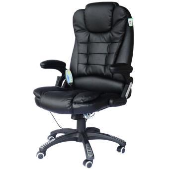 Cadeira de Escritrio Bcelec 6 Pontos Couro Preto