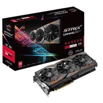 ASUS ROG STRIX-RX480-8G-GAMING Radeon RX 480 8GB GDDR5 - Placa Captura de Vídeo - Compra na Fnac.pt