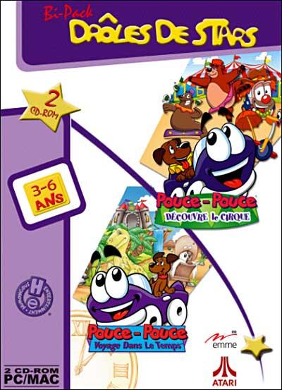 Pouce Pouce Voyage Dans Le Temps : pouce, voyage, temps, Bipack, Pouce-Pouce, Découvre, Cirque, Voyage, Temps, CD-ROM, Achat