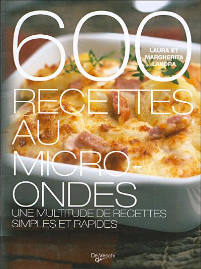 Cuisine Au Micro Onde 1001 Recettes : cuisine, micro, recettes, Recettes, Micro-ondes, Broché, Landra, Achat, Livre