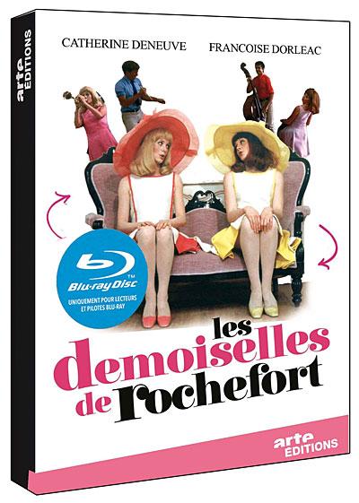 Les Demoiselles De Rochefort Titres : demoiselles, rochefort, titres, Demoiselles, Rochefort, Blu-ray, Jacques, Achat