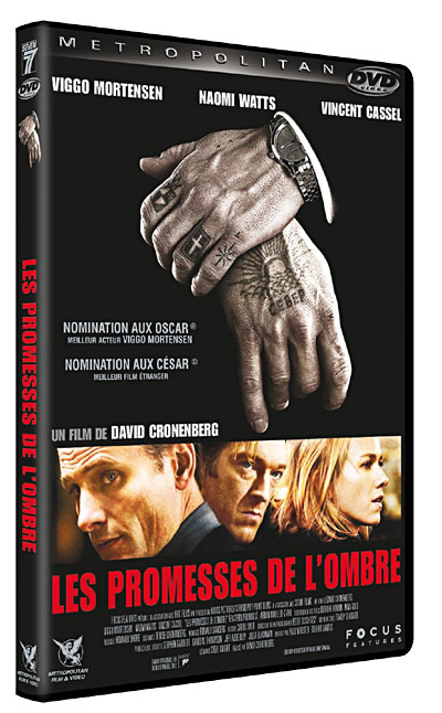 Les Promesses De L'ombre 2 : promesses, l'ombre, Promesses, L'ombre, David, Cronenberg, Achat