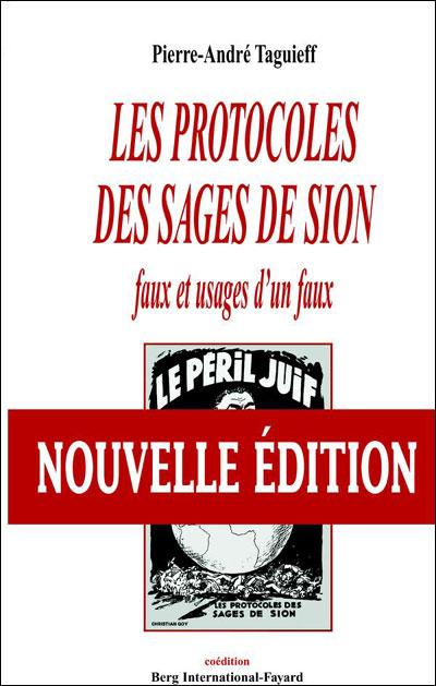 Protocole Des Sages De Sion Pdf : protocole, sages, Protocoles, Sages, Usages, Broché, Pierre-André, Taguieff, Achat, Livre, Ebook
