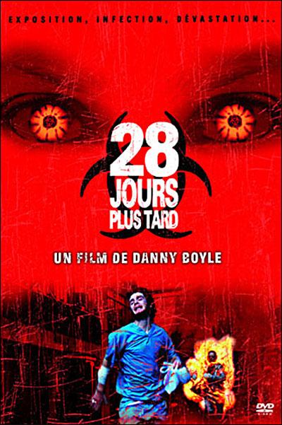 Film 28 Jours Plus Tard : jours, Jours, Danny, Boyle, Achat