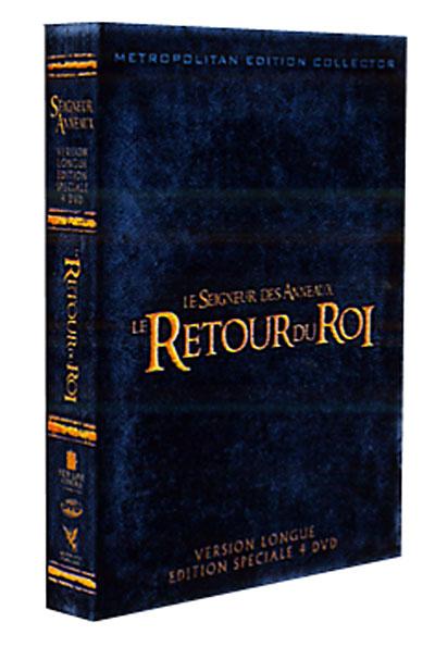 Le Seigneur Des Anneaux Le Retour Du Roi : seigneur, anneaux, retour, Retour, Edition, Collector, Achat