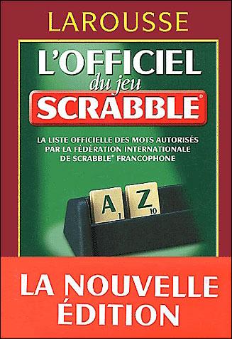 Dictionnaire Officiel Du Scrabble Gratuit : dictionnaire, officiel, scrabble, gratuit, L'officiel, Scrabble, Cartonné, Collectif, Achat, Livre