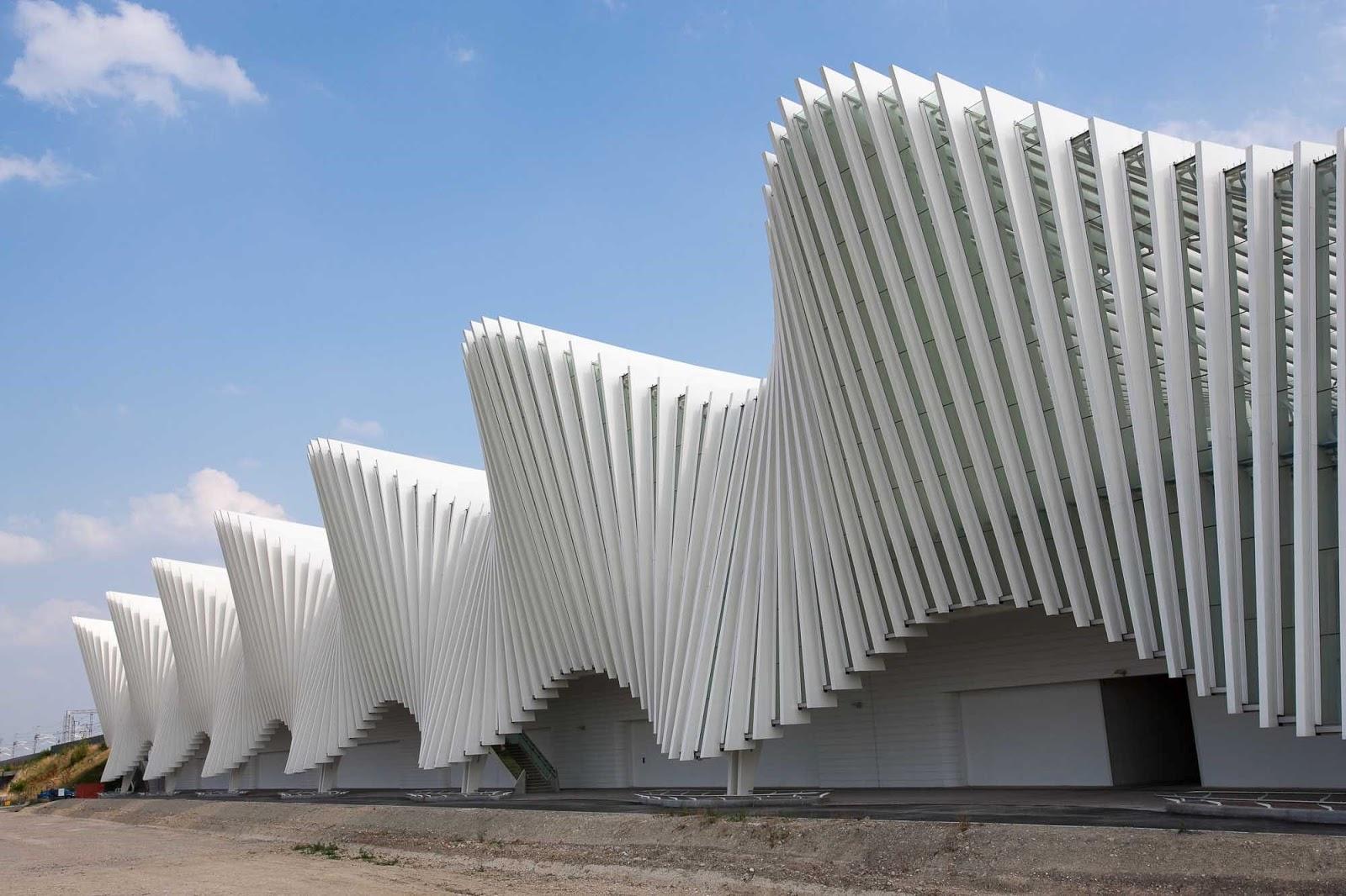 Calatrava Reggio Emilia Station  Food4Rhino