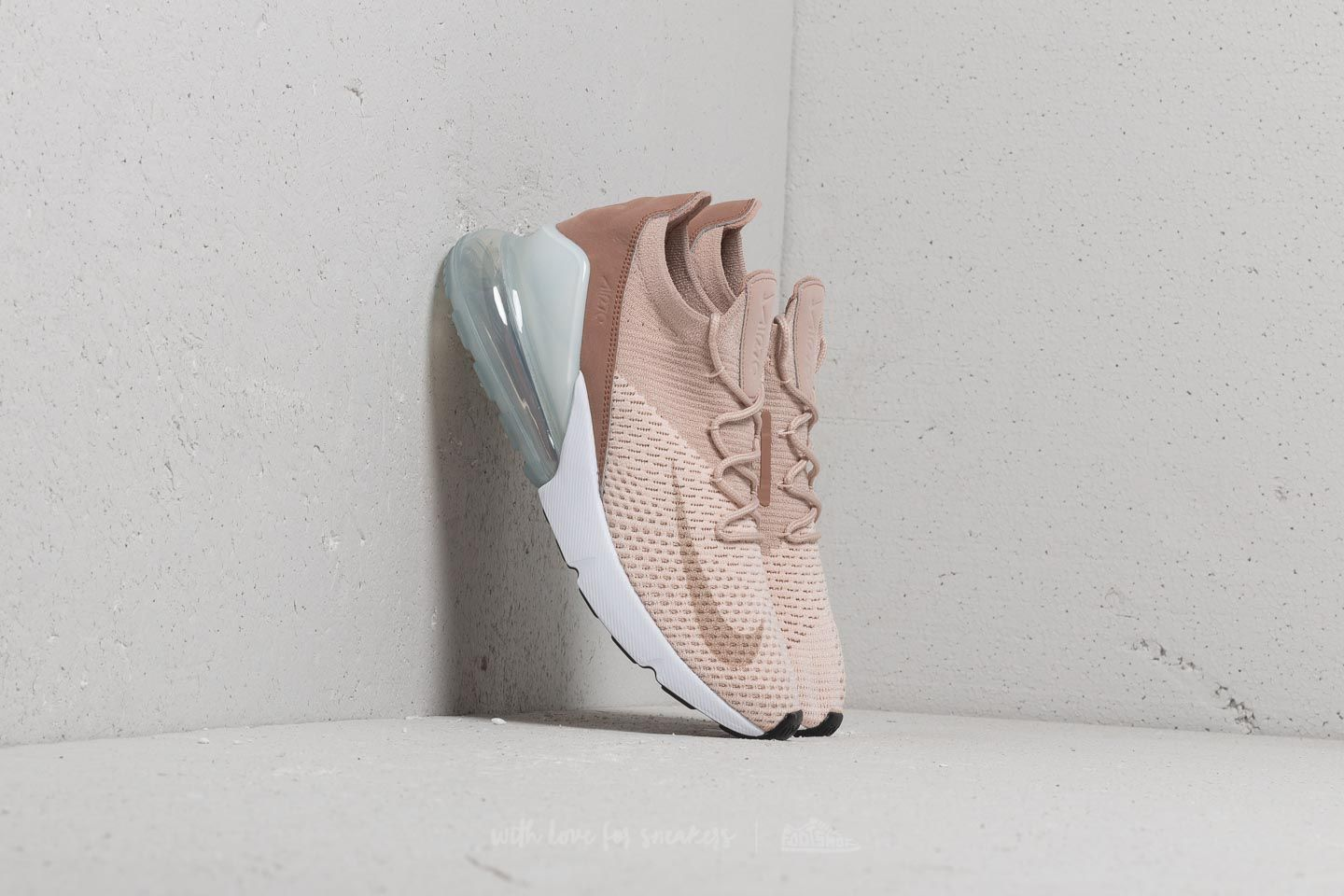 Nike Women Air Max 270 Flyknit Guava Ice Particle Beige