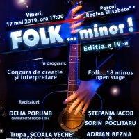 Recitalurile Folk Minor Fest 2019