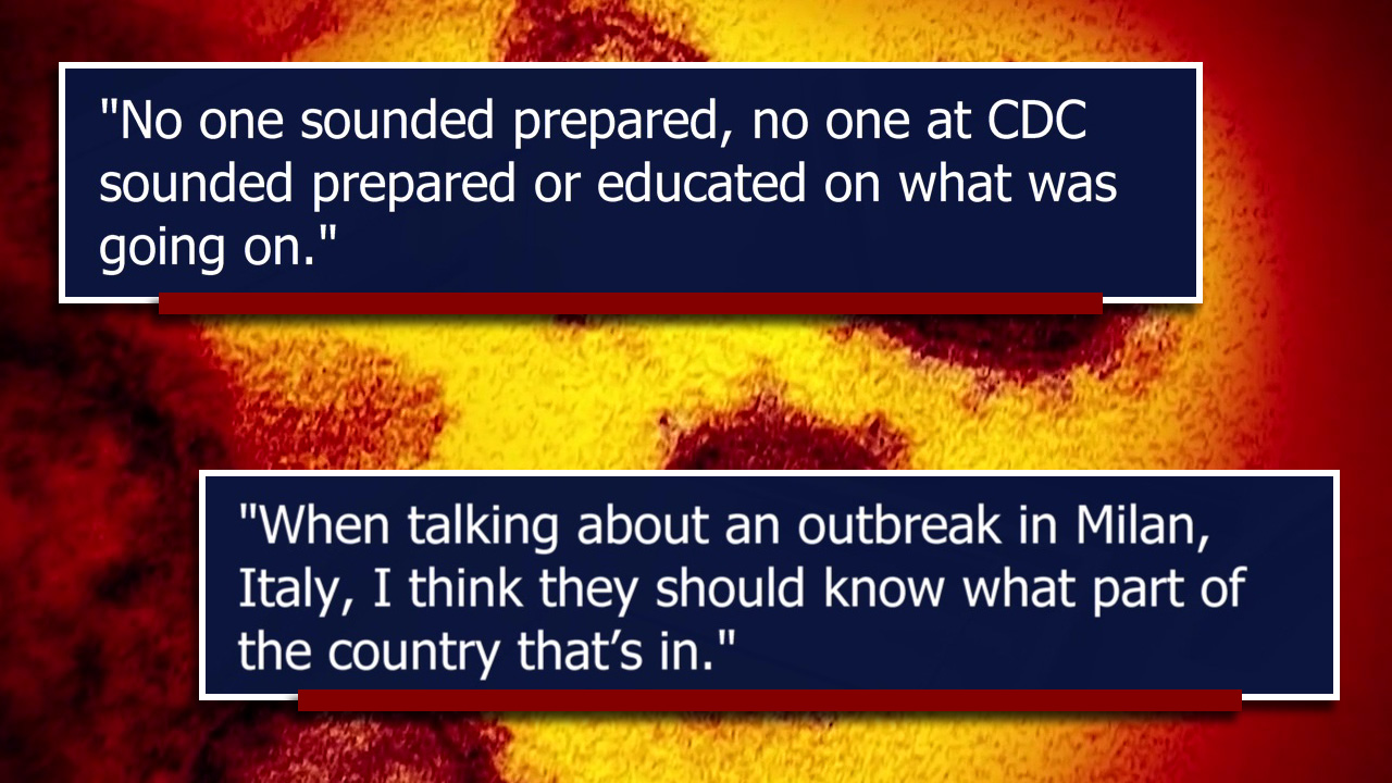 Tampa coronavirus patient says CDC did not take her health ...