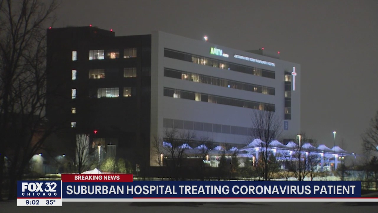 Hoffman Estates hospital treating Chicago woman who has ...