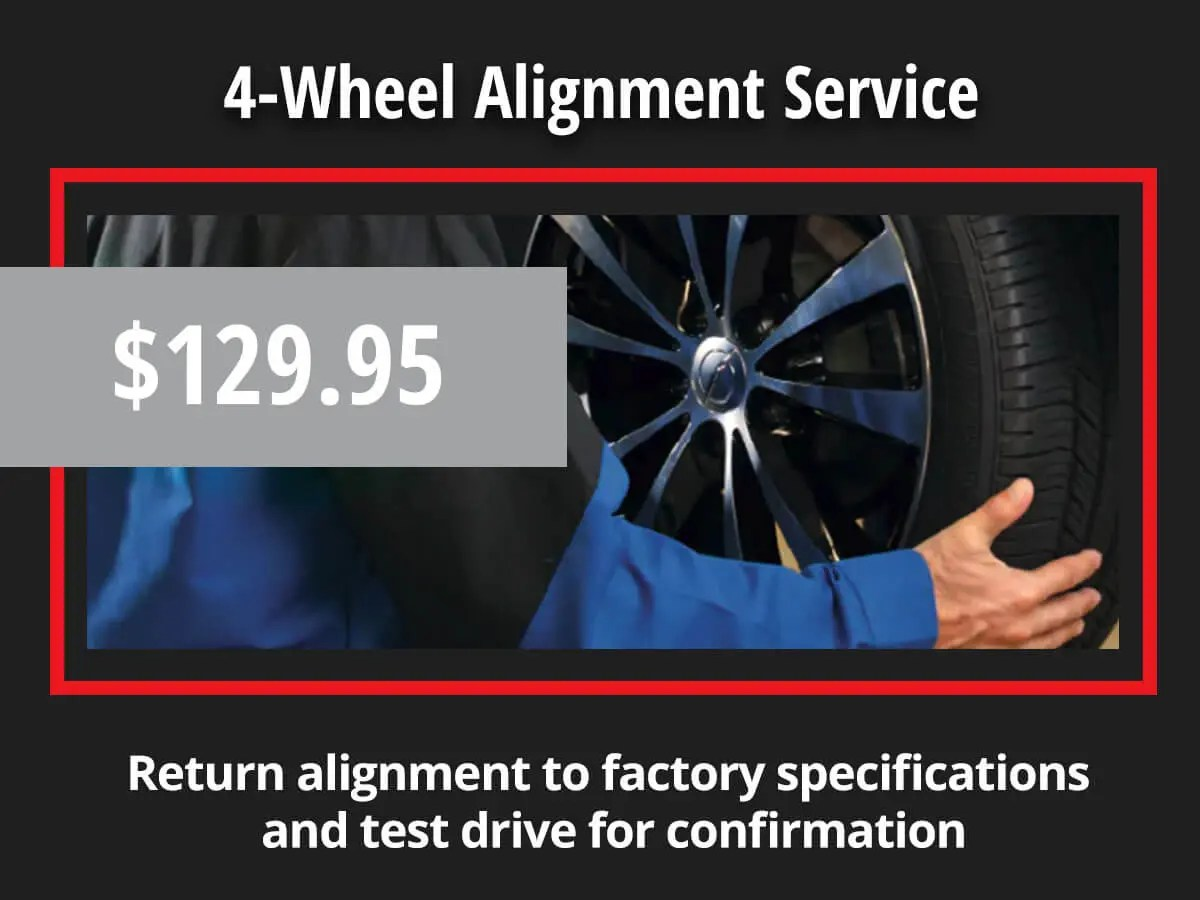 4 wheel alignment service
