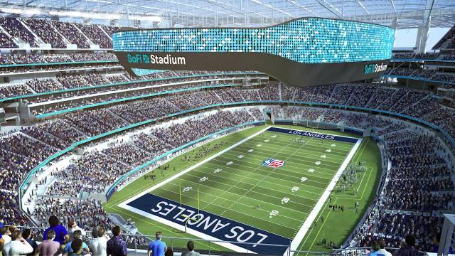 Exclusive, behind-the-scenes tour of SoFi Stadium, new home of LA Rams and Chargers