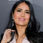 Salma Hayek celebrates 55th birthday by showing off her curves in bright blue one-piece 💥👩💥