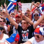 Republicans march with protesters for Cuban freedom as they pushed Biden for more support 💥💥