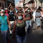 Biden praises Cuban protesters after Cuba president accuses US of funding demonstrators 💥💥