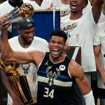 Giannis Antetokounmpo wins NBA Finals MVP, dubbed 'new king of the NBA' 💥💥