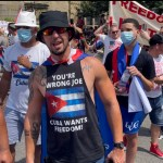 Washington protesters descend on Cuban embassy, accuse Biden team of supporting communism 💥💥💥💥