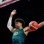 Australia now 2-0 in men's basketball, tops Italy 86-83 💥💥