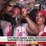 'Bloodied' Little Havana demonstrator slams Biden: 'Cubans don't want vaccines, they want freedom' 💥💥