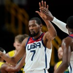 US men's basketball team advances to gold medal game after beating Australia💥👩💥💥👩💥