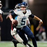 Woodside, Barkley throw TDs as Titans stop Falcons 23-3 💥💥