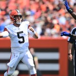 Keenum throws TD, Browns beat Giants in matchup of reserves 💥💥