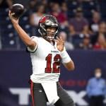 Brady throws touchdown pass as Buccaneers beat Texans 23-16 💥💥