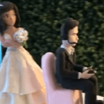Couple speaks out after video game-themed wedding cake topper unexpectedly goes viral 💥💥