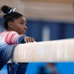 Simone Biles finishes Tokyo Olympics with bronze medal in balance beam 💥💥