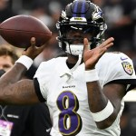 Ravens' Lamar Jackson tries to tamp down hype ahead of Chiefs game 💥💥