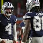 Cowboys' Dak Prescott throws first TD pass in 340 days 💥💥