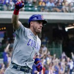 Wisdom sets Cubs rookie record with 27th HR, beat Brewers 💥💥