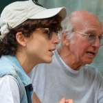 Larry David, Timothée Chalamet grab lunch in NYC after fashion week – and fans can't get enough: 'Iconic' 💥👩💥