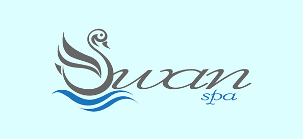 Free Swan Spa Vector Logo