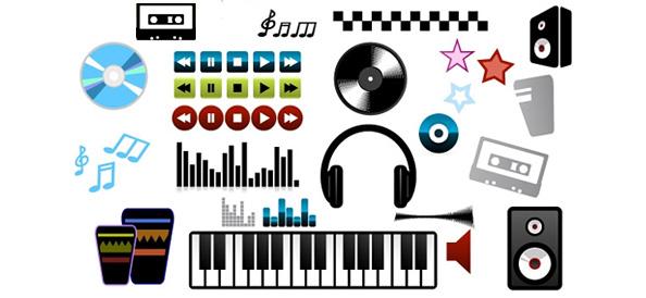 Free Music Logo Vector Designs