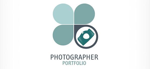 Photographer Logo Vector Design Template