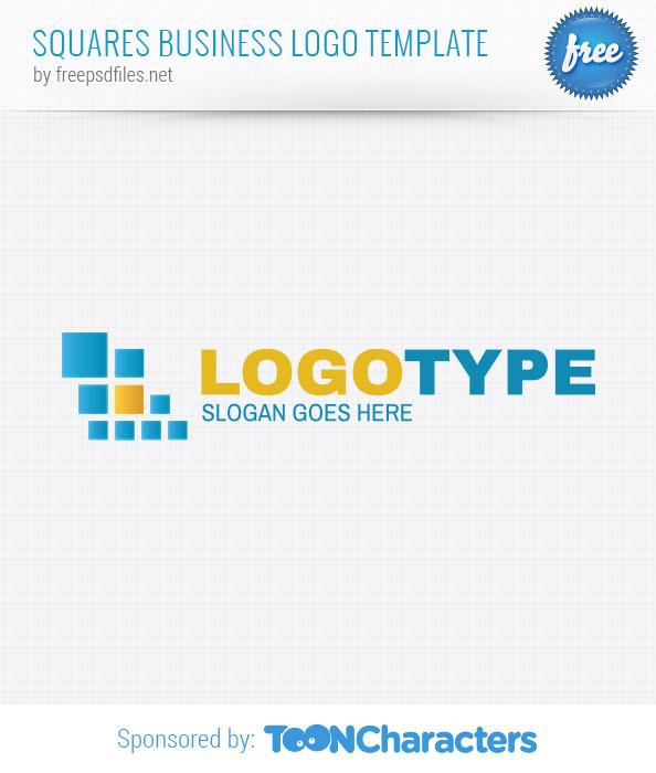 Squares business logo template free logo design templates for Design a company logo free templates