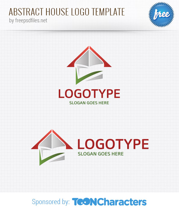 Abstract House Logo Template