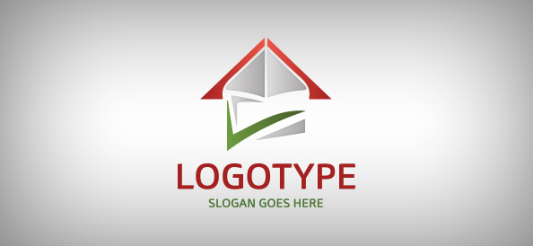 Abstract House Logo Template Free Logo Design Templates - Free modern logo templates