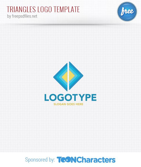 Triangles Logo Template