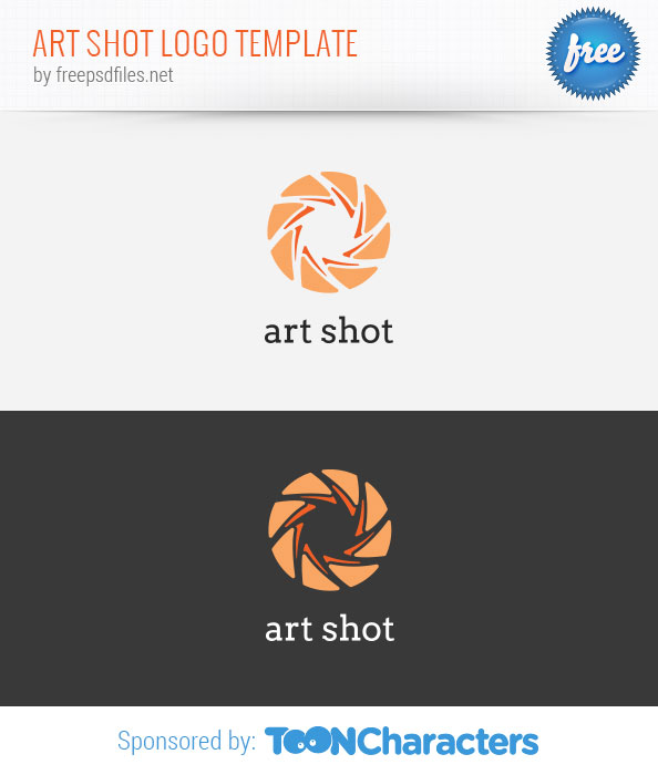 Art Shot Logo Template