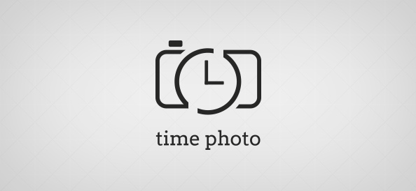 Time Photo Logo Template