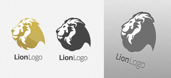 Free Lion Logo Design