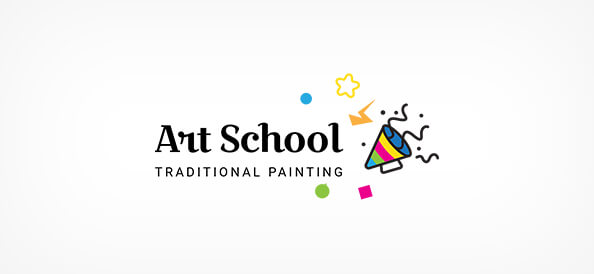 Free Art School Logo