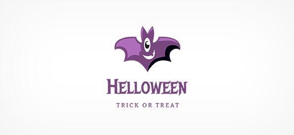 Free Cartoon Bat Logo Design