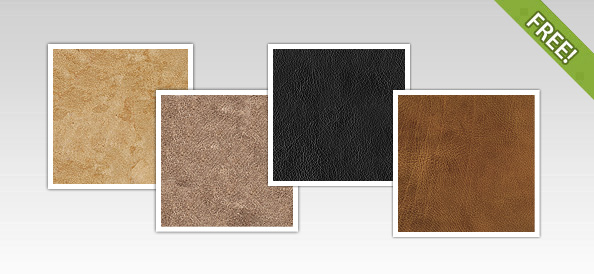 4 Free Leather Textures